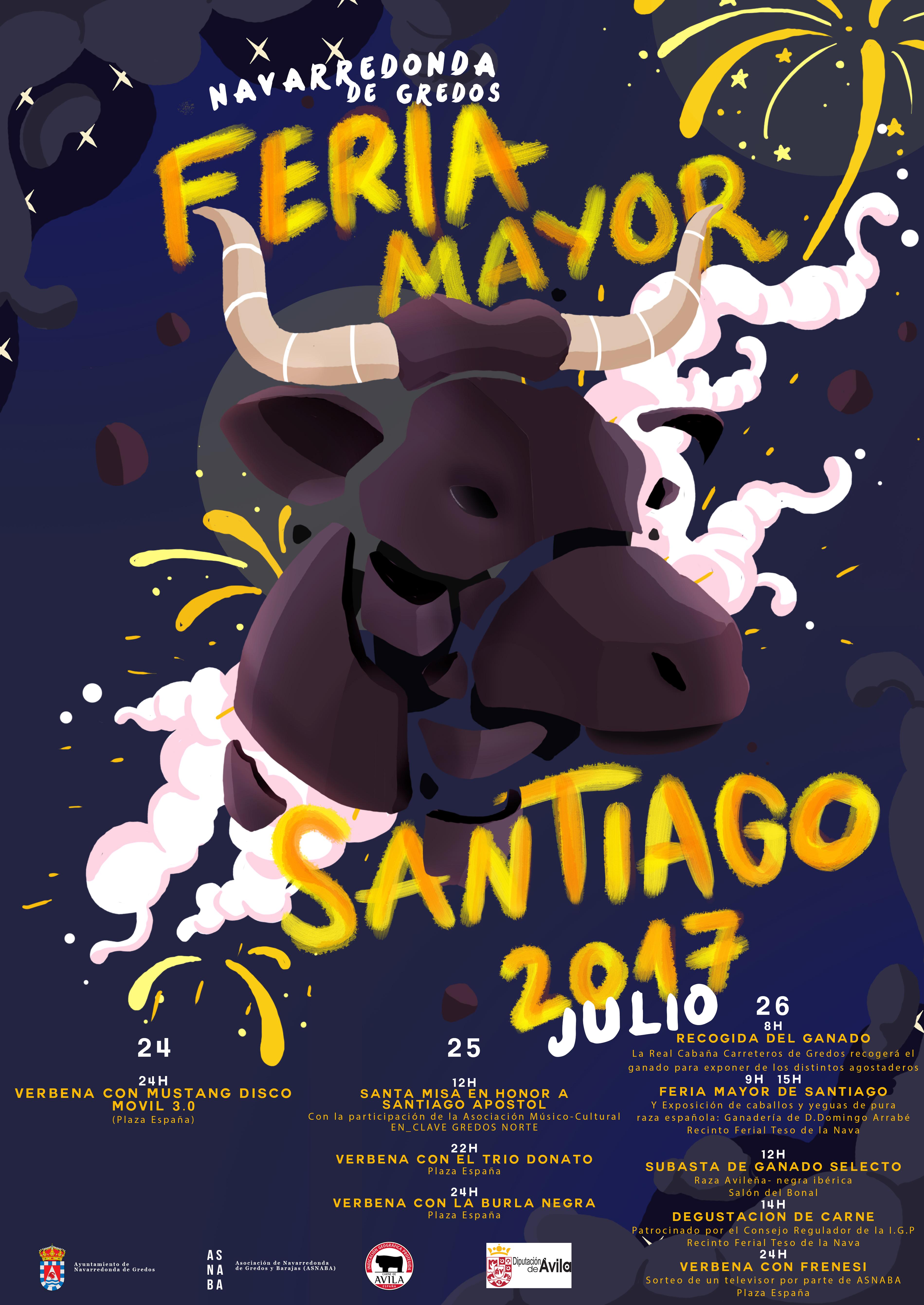 Cartel Feria Santiago_2017
